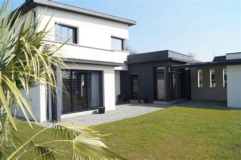 bureau etude thermique rt 2012 maison moderne monopente toit plat chateaugiron