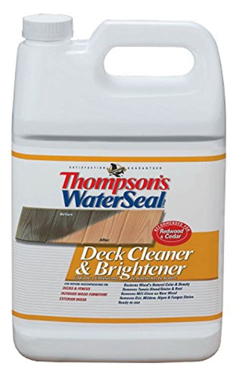 deck brightener ace hardware thompson s th 087711 16 waterseal deck cleaner and