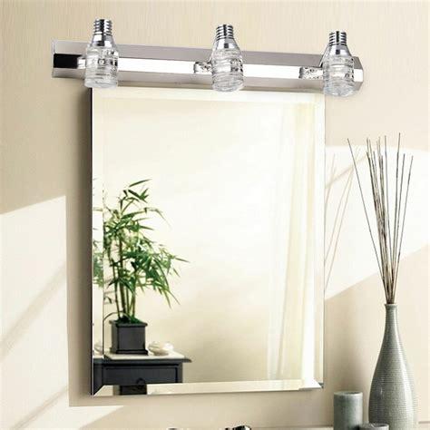 Modern Crystal Mirror Bathroom Vanity Light 6w Wall