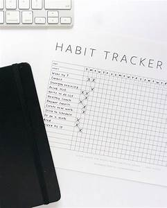 free printable habit tracker evermore paper co