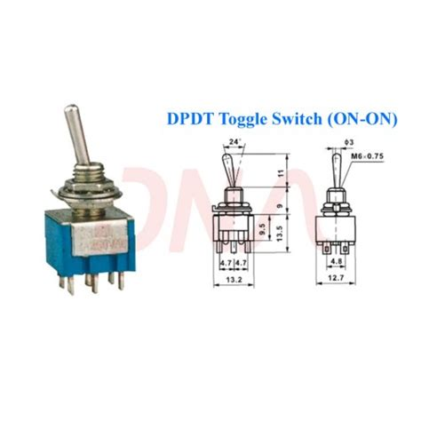 Buy Online Way Pole Type Dpdt Switch Low