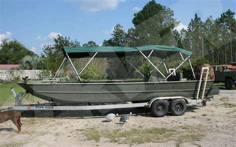 Enclosed Jon Boat by Bimini Top The Hull Boating And