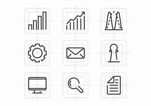 Diagram Line Icons