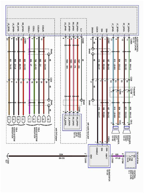 2006 F150 Trailer Wiring Diagram by 2006 Ford F 150 Air Conditioning Wiring Diagram