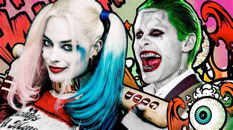 joker squad kostüm squad joker and harley quinn photo hints at excised abusive relationship ign