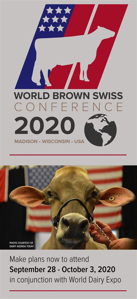 brown swiss association breed world conference