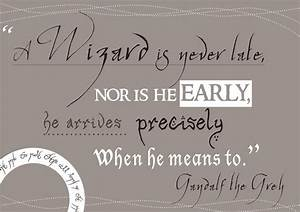 1000+ images ab... Gandalf Wizard Quotes