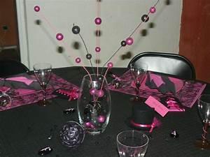 Deco Table 18 Ans : idee deco anniversaire fille 18 ans tu45 montrealeast ~ Dallasstarsshop.com Idées de Décoration