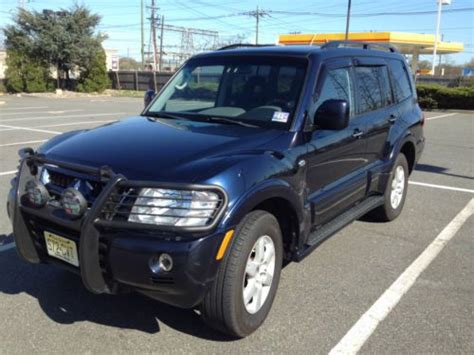 buy car manuals 2005 mitsubishi montero electronic valve timing find used 2005 mitsubishi montero limited sport utility 4 door 3 8l in united states