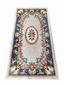 magnifique tapis d39orient de chine kangxi aubusson 140x70 With tapis oriental avec canapé hauteur 70 cm