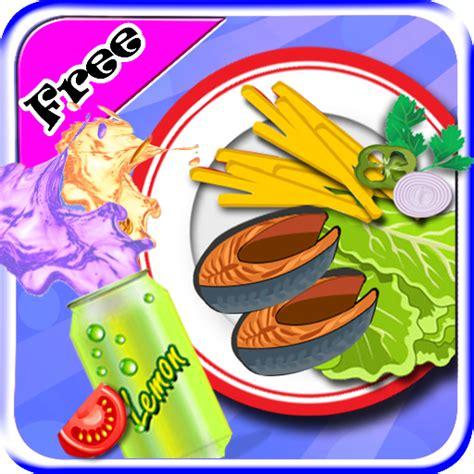jeux de cuisine de poisson chips de friture de poissons maker jeux de cuisine pour les filles enfants fr app