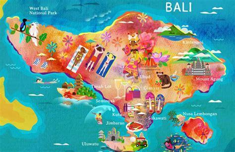 bali tourist map bali asia car rental cheap bali asia