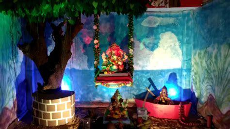 Ganapati Decoration Ideas - top 65 creative ganpati decoration ideas for home that