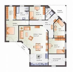 Haus Raumaufteilung Planen : die besten 25 winkelbungalow grundriss ideen auf ~ Lizthompson.info Haus und Dekorationen