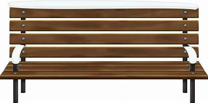 Bench Clipart Wooden Cliparts