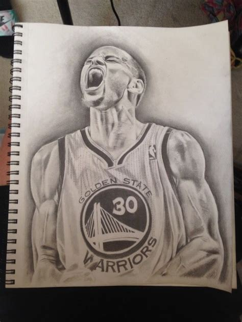 stephen curry drawing basketball drawings stephen curry