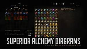 Witcher 3  Where To Get Superior Alchemy Diagrams