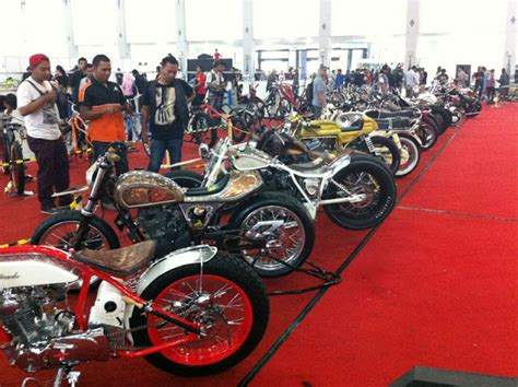 Modifikasi Satria Fu Jogja by Kustomfest Kontes Modifikasi Motor Kota Jogja 2012