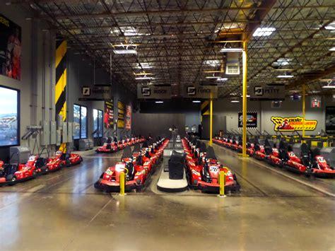 Indoor Go Kart Racing At Pole Position Raceway