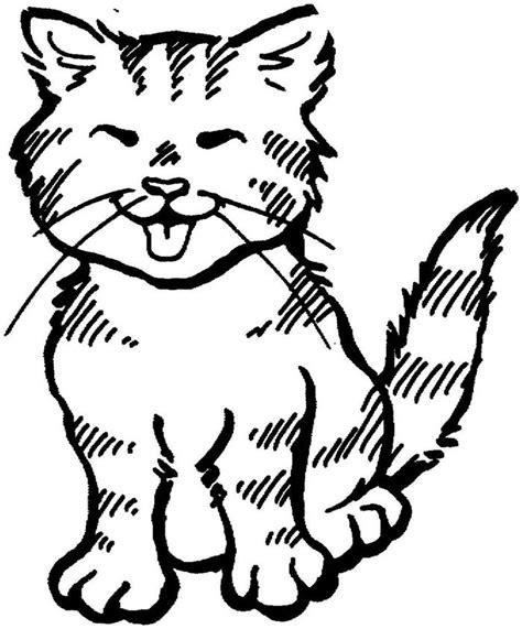kumpulan gambar mewarnai kucing hewan peliharaan yang