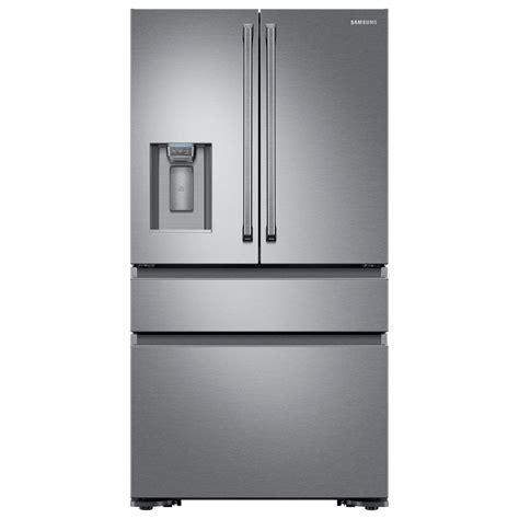 samsung 22 6 cu ft 4 door french door refrigerator with