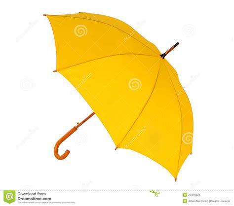 aureole jaune sur linge blanc parapluie jaune sur un fond blanc image stock image 27476033