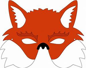 best photos of free printable fox mask template With fantastic mr fox mask template