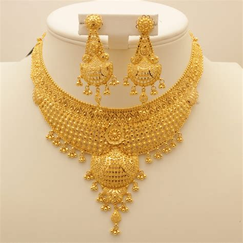India Gold Rate Indian Gold Jewellery Necklace Sets Www Pixshark Com