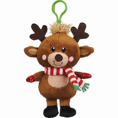 Reindeer Plush Clip Icon Party Email Partycity