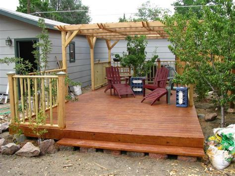 building a floating deck alair homes calgary