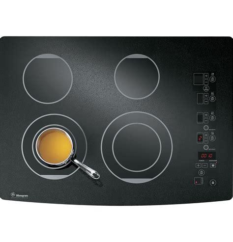zeurbfbb ge monogram  digital electric cooktop