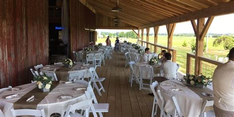 barn venues in michigan blissful barn weddings get prices for wedding venues in mi
