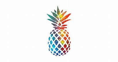 Pineapple Colorful Watercolor Case Phone Designs Teepublic