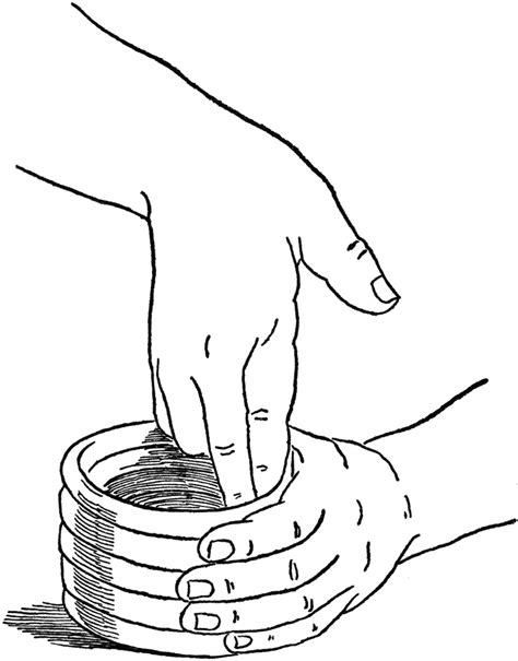 smoothing  clay container clipart