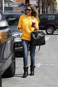 5 Celeb-Approved Ways to Wear Your Moto Boots This Fall - Outfit Ideas - Livingly