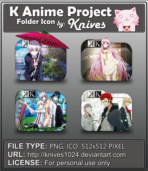 Winter 2014 2015 Anime Folder Icon Pack By Mikorin Chan Icon Anime Windows Xp
