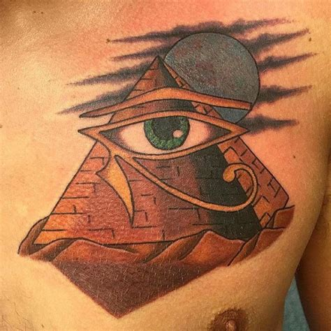pyramid tattoos designs ideas  meaning tattoos