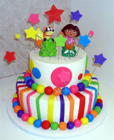cakes dora  explorer images  pinterest