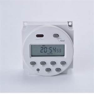 Programmable Time Switch Relay Cn101a 220vac Digital Lcd