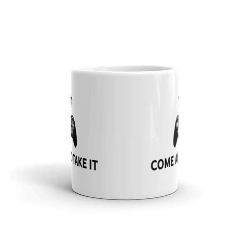 Come And Take It Video Game Controller Coffee Mug