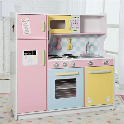 playpink cuisine wood play kitchen sets homesfeed