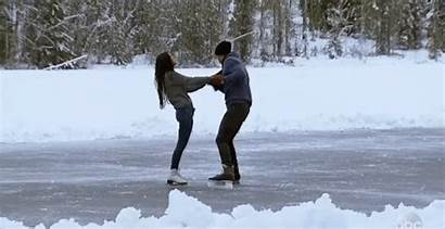 Couple Skating Ice Finale Bachelor Mocha Milk