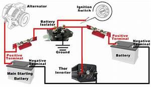 Diagram  Boat Dual Battery Isolator Wiring Diagram Full