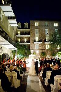 moonlit wedding at the glamorous maison dupuy hotel in new With new orleans honeymoon packages