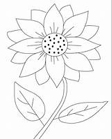 Coloring Pages Sunflower Printable Flower Sheets Labels sketch template