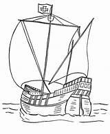 Catamaran Ancient Template Coloring Sketch sketch template