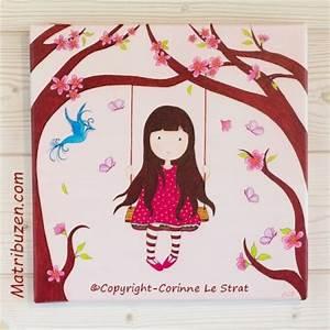 cadre chambre fille murale chambre ou enfant cadre louis With chambre bébé design avec fleur cadeau