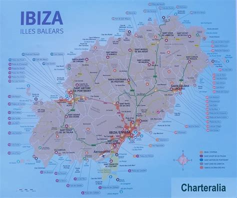 secluded beaches ibiza charteralia boat hire ibiza