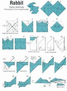 Origami Osterhase Faltanleitung Einfach : origami hase basteln 19 interessante ideen anleitungen ~ Watch28wear.com Haus und Dekorationen
