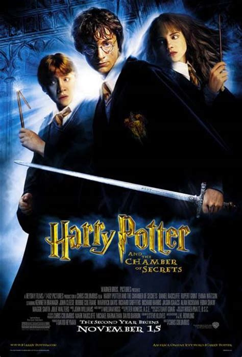 poster  harry potter  la camera dei segreti